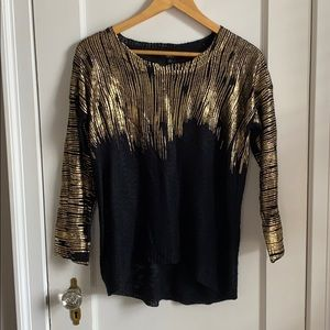Foiled Sweater